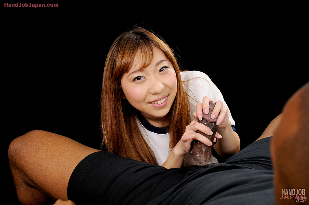 Asian Teen Strokes Cock