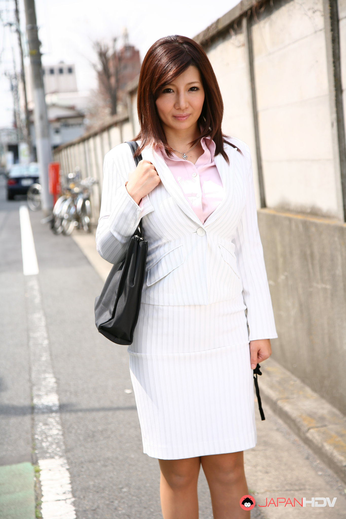 In business girls suit nude