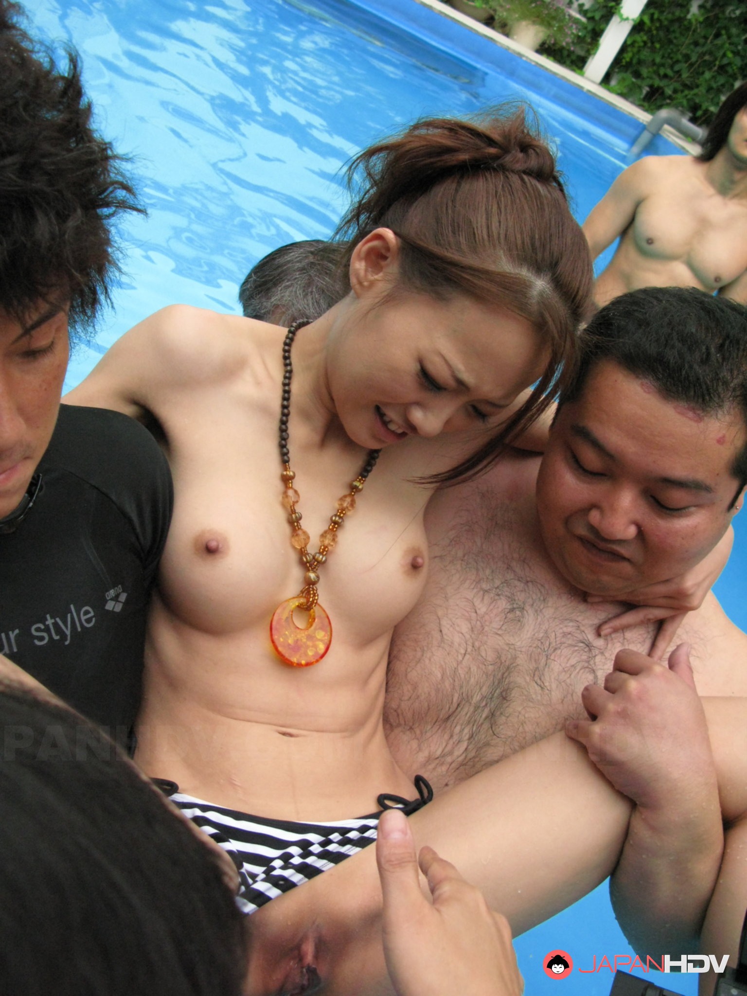 dare tough dudes are having wild fun fucking busty oriental that can not participate