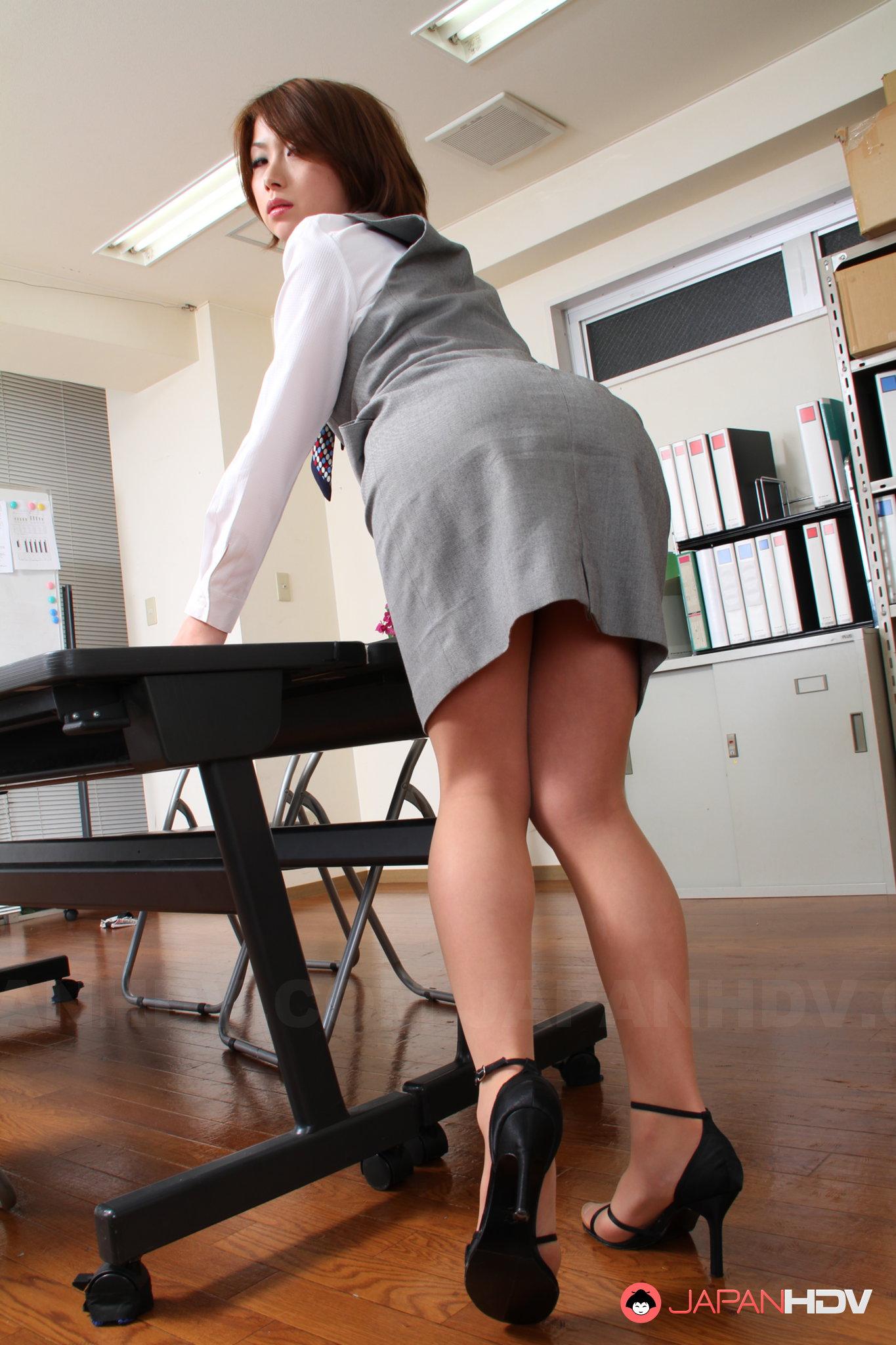 Japanese office lady sex av