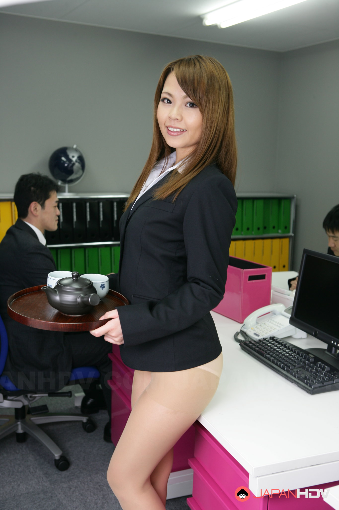 in office off naked girls showing